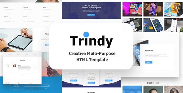 Trindy — Multi Purpose Html Template - Creative Site Templates