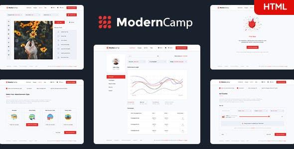 Mediacamp - Online Advertising HTML Template