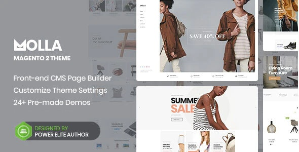 Molla - Multipurpose Magento 2 Theme - Shopping Magento