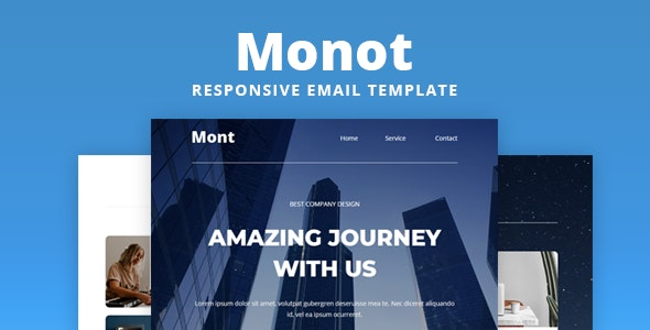 Monot - Responsive Email Template - Email Templates Marketing
