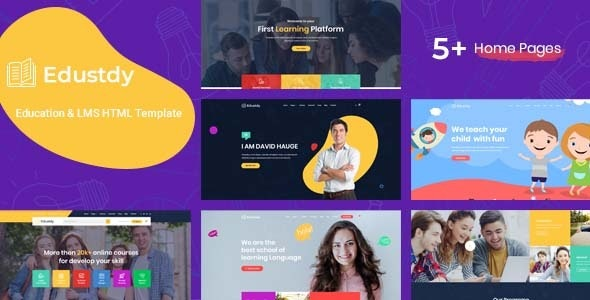 Edustdy  Education HTML Template by wpsprite