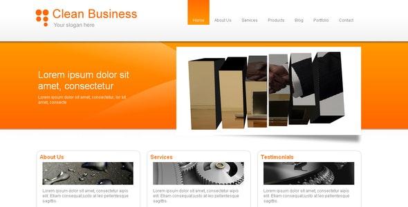 Clean Business & Portfolio - Business Corporate