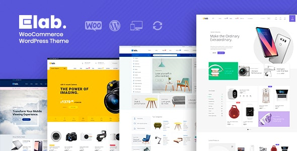eLab - WooCommerce Marketplace WordPress Theme - WooCommerce eCommerce