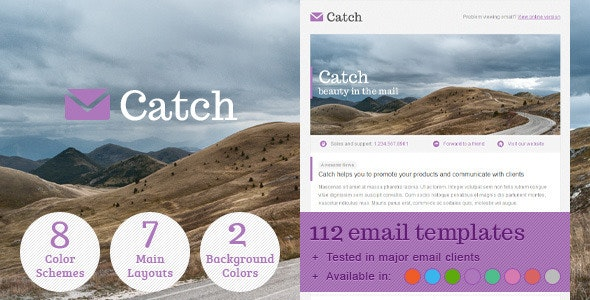 Catch Email Template - Email Templates Marketing