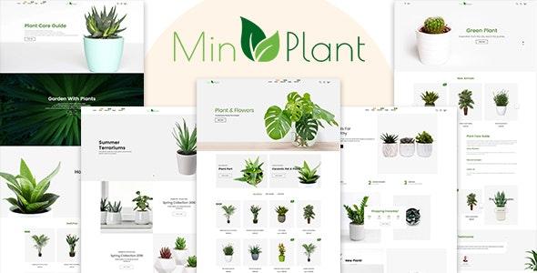 MinPlant - MultiPurpose Plant Store Shopify Theme - Shopify eCommerce