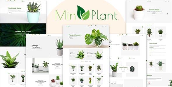 MinPlant - MultiPurpose Plant Store Shopify Theme