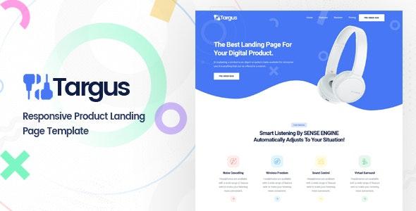 Targus | Product Landing Page - Marketing Corporate