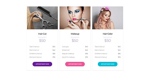 Beauty Salon Spa WordPress Theme