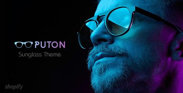 Puton | Eyewear, Sunglasses Shopify Theme - Entertainment Shopify