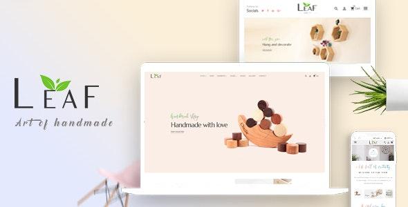 Leaf Store - Handmade Shop Ecommerce Prestashop Theme - PrestaShop eCommerce