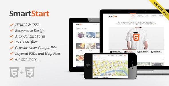 SmartStart - Responsive HTML5 Template - Creative Site Templates
