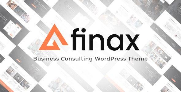 Finax | Responsive Business Consulting WordPress Theme - Corporate WordPress
