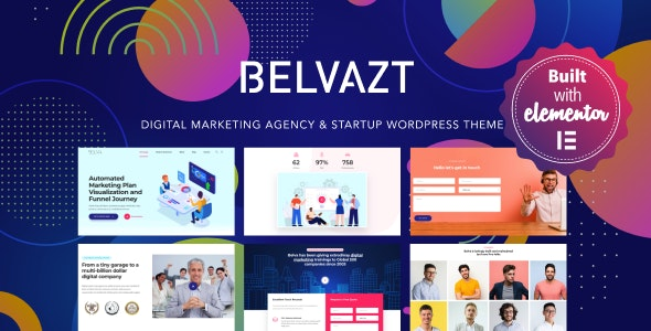 Belvazt - Digital Marketing Agency WordPress Theme - Marketing Corporate