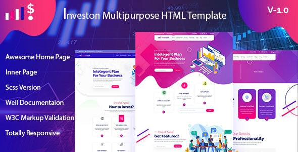 Investon - Multipurpose Business HTML Template - Business Corporate