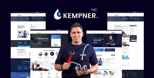 Kempner - Plumber WordPress Theme - Business Corporate
