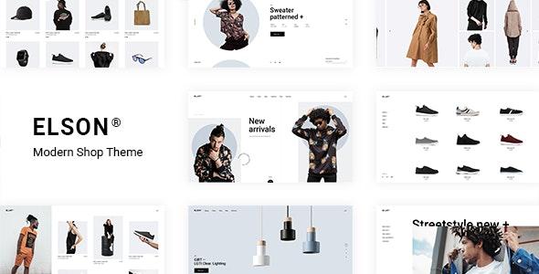 Elson - Modern Shop Theme - WooCommerce eCommerce