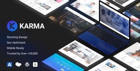 Karma - Responsive WordPress - Corporate WordPress