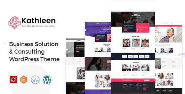 Kathleen - Business Consulting WordPress Theme - Business Corporate