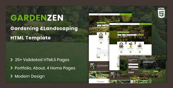 Gradenzen | Garden & Landscape HTML Template - Business Corporate