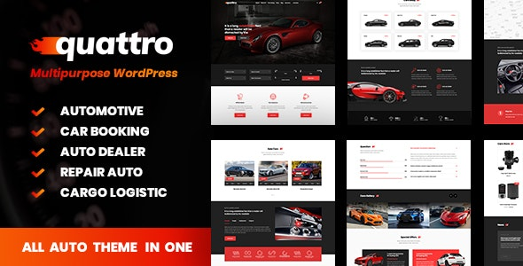 Quattro - Auto Booking & Automotive - Business Corporate