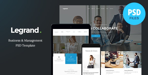 LeGrand - A Modern Multi-Purpose Business PSD Template - Business Corporate