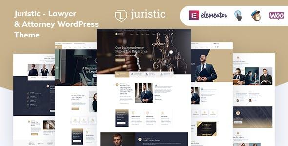 Juristic - Lawyer & Attorney WordPress Theme