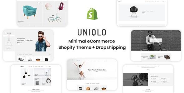 Uniqlo - Minimal eCommerce Shopify Theme - Shopping Shopify