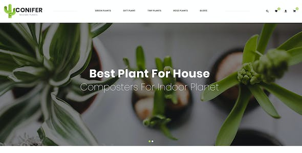 Conifer - Multipurpose OpenCart 3.x Responsive Theme