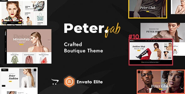 Peter - eCommerce OpenCart Theme for Boutique Shop - Fashion OpenCart