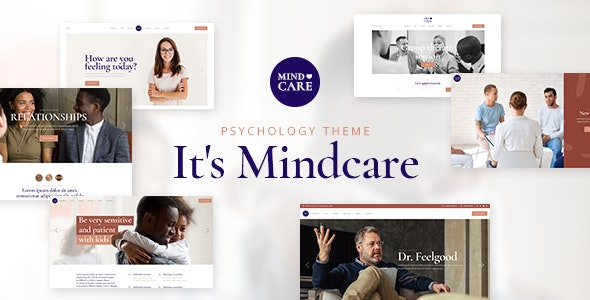 MindCare Theme Preview