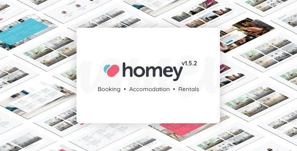 Homey - Booking and Rentals WordPress Theme - Real Estate WordPress