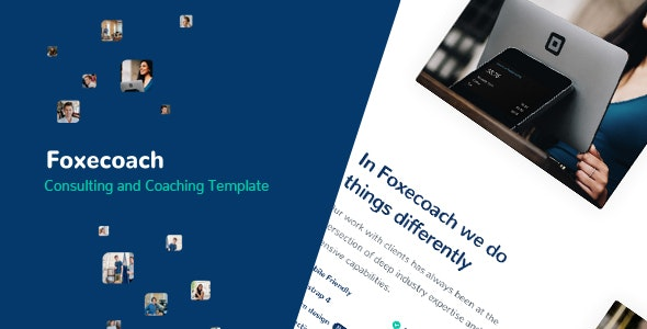 Foxecoach - Consulting and Coaching Template - Business Corporate