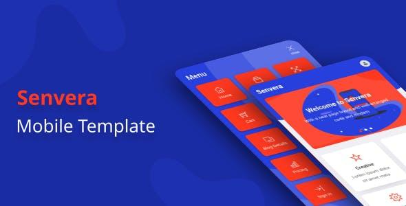 Download Senvera - Mobile Template