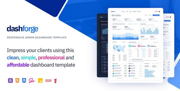 Dashforge - Responsive Admin Dashboard Template - Admin Templates Site Templates