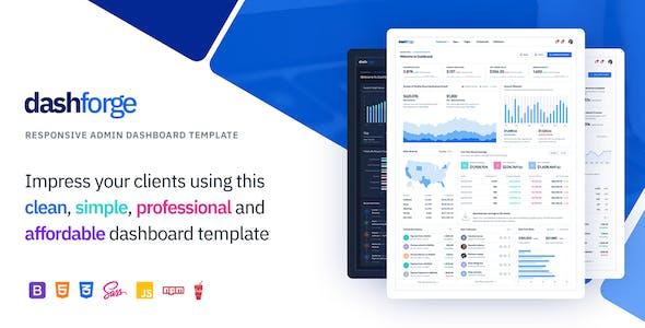 Dashforge - Responsive Admin Dashboard Template