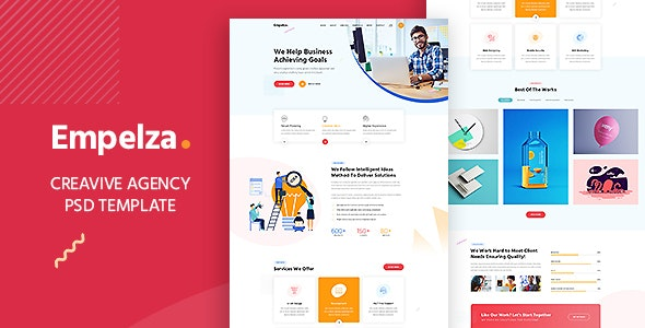 Empelza - Agency PSD Template - Business Corporate