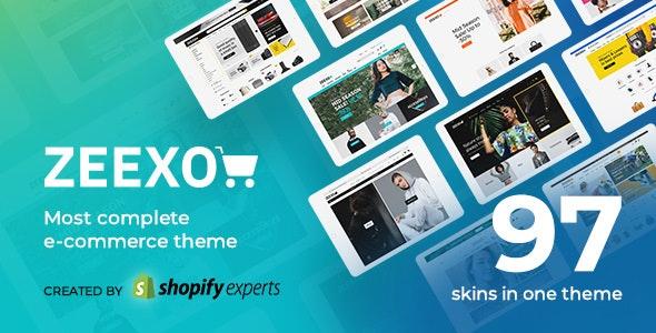 Zeexo - Multipurpose Shopify Theme - Fashion Shopify