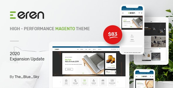 Eren - Magento 2 Responsive Fashion Theme - Shopping Magento