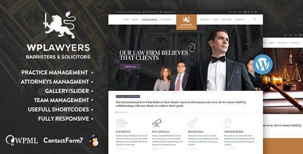 Lawyers  | Attorneys WordPress Theme