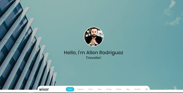 Wixer - One Page Parallax