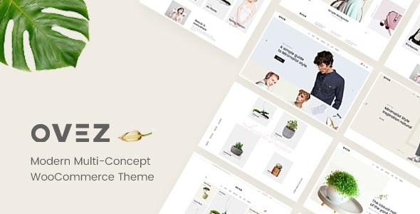 Ovez - Modern Multi-Concept WooCommerce Theme - WooCommerce eCommerce