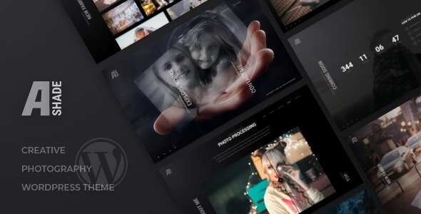 Ashade | Photography WordPress Theme - Photography Creative