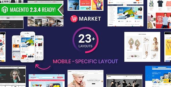 Market Premium Responsive Magento Store Theme