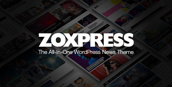 ZoxPress - The All-In-One WordPress News Theme - News / Editorial Blog / Magazine