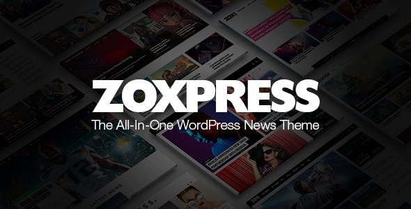 Download ZoxPress - The All-In-One WordPress News Theme