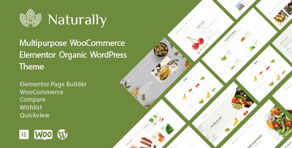 Naturally - Agriculture Organic Products WooCommerce Theme