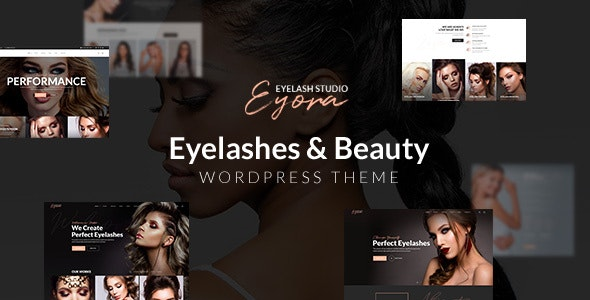 Eyora – Eyelash Extension & Lash Lift WordPress Theme - Health & Beauty Retail