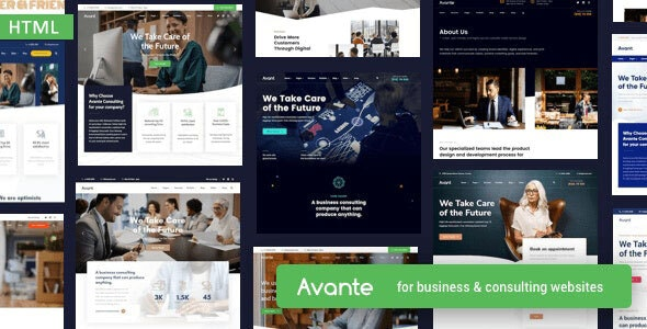 Avante - Business HTML Template - Business Corporate