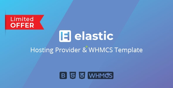 Elastic - Hosting Provider & WHMCS Template - Hosting Technology