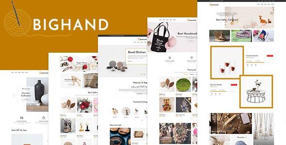 BigHand - Handmade Shop Shopify Theme